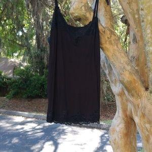 Lane Bryant Black Lace Cami 18/20 New